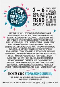 Stop Making Sense 2012 full lineup