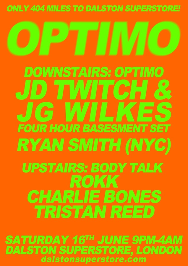 Body Talk With Optimo