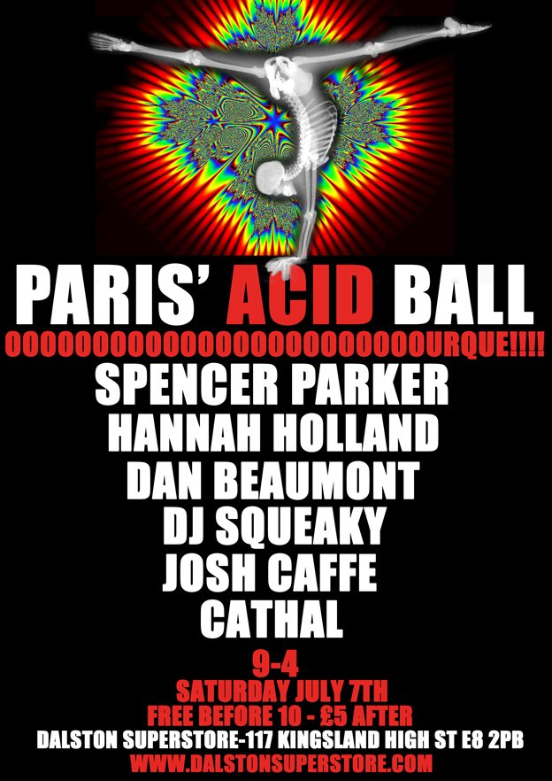 Paris' Acid Ball
