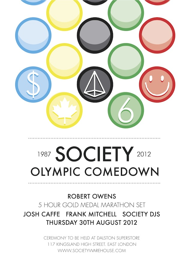 Society Presents: Robert Owens