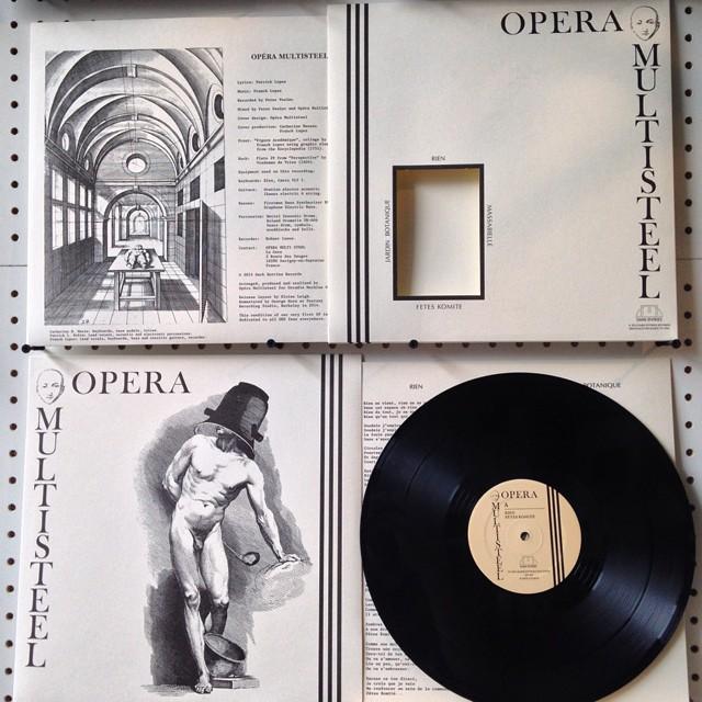 Opera Multi Steel on Dark Entries