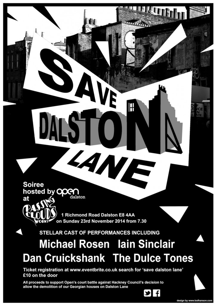 SAVE DALSTON LANE