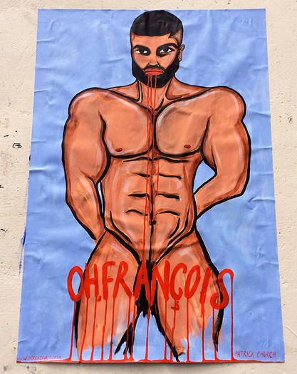 Francois Sagat Nude by Patrick Church