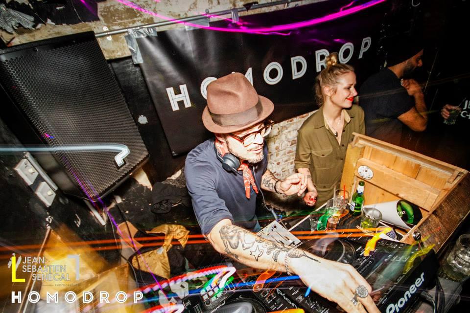 Justin Robertson at Homodrop