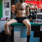 Naked Boys Brunch by VANEK LONDON