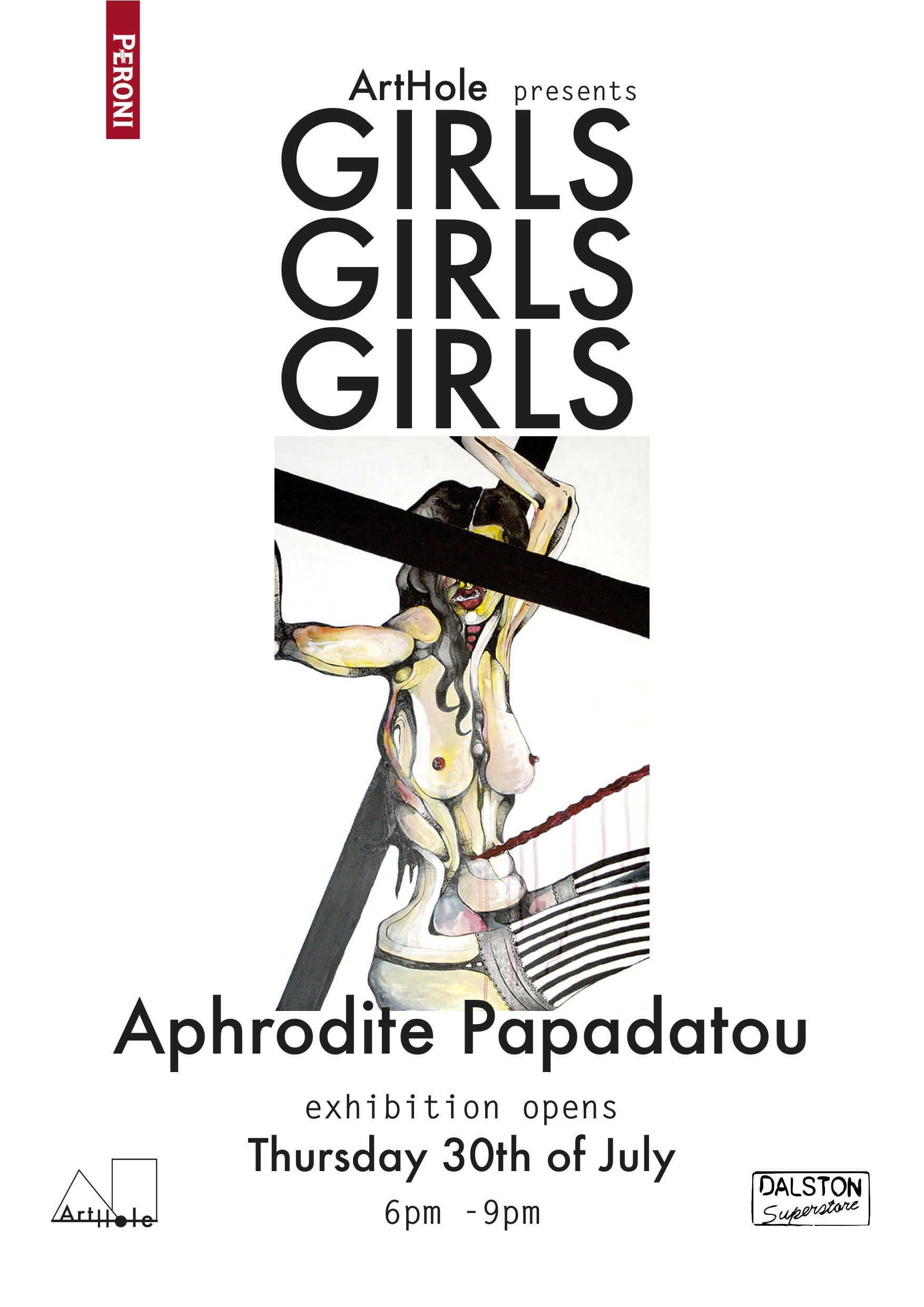 Arthole Presents: Girls Girls Girls