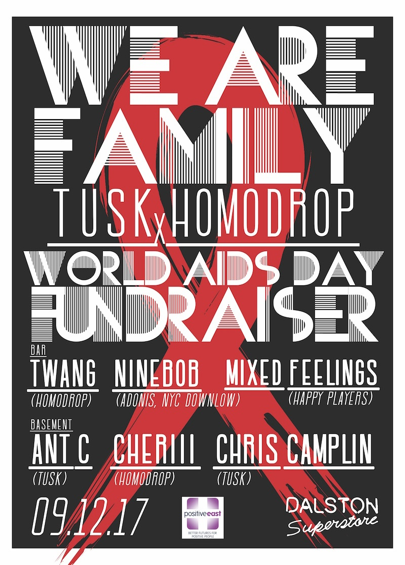 We Are Family World AIDS Day Fundraiser!