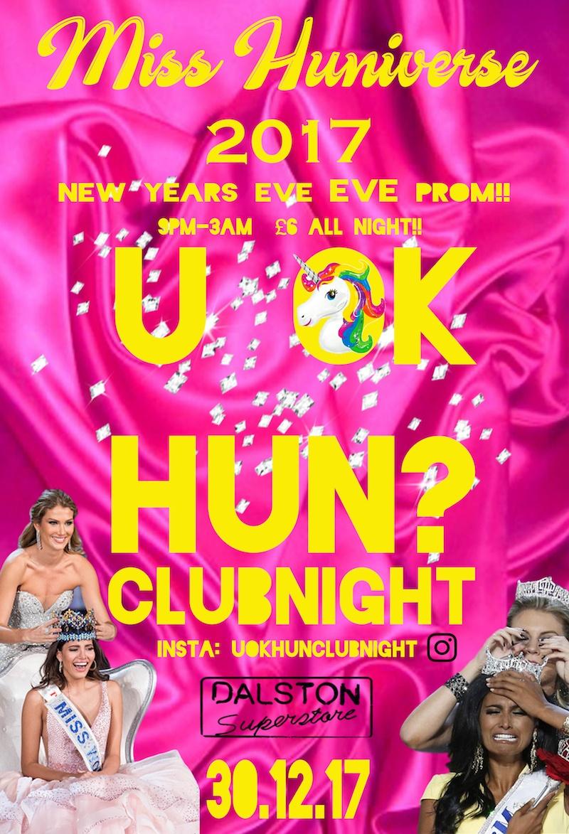 U OK HUN?: MISS HUNIVERSE