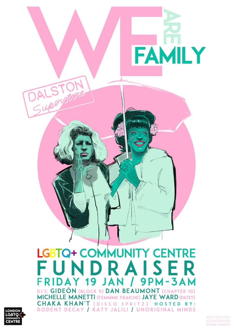 We Are Family: LGBTQ+ Community Centre Fundraiser