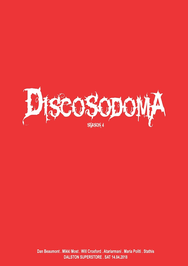 Discosodoma turns FOUR!