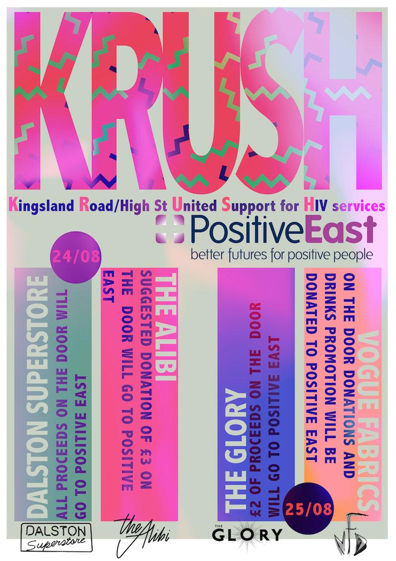 We Are Family: Positive East KRUSH Fundraiser