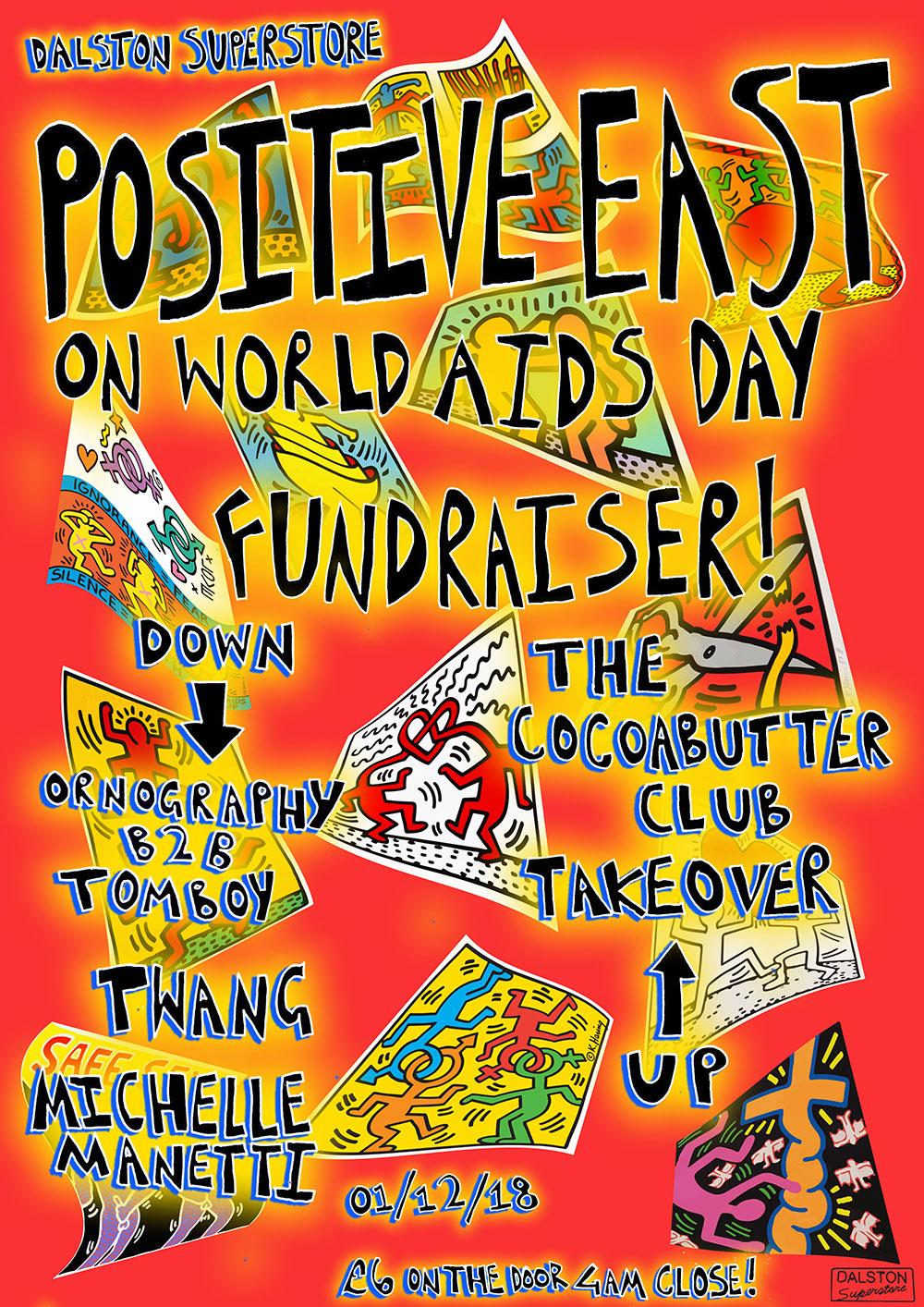 Positive East Fundraiser