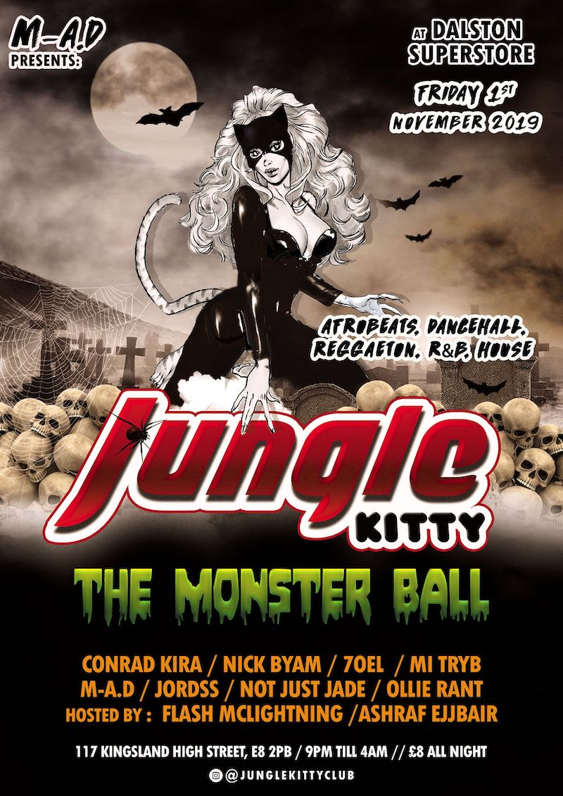 Jungle Kitty: Monster Ball