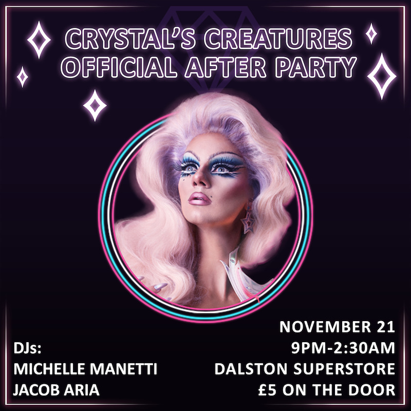 Crystal's Creatures Afterparty