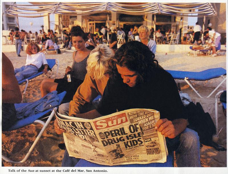 Café Del Mar, Ibiza 1989