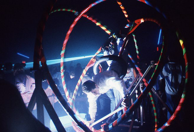 Gyroscope, acid house party in Deptford, 1988