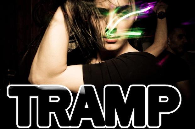 Someone dancing at Tramp