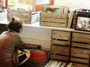 The Vinyl Library in Stoke Newington