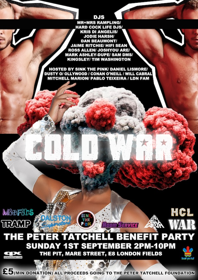 Cold War - Peter Tatchell Benefit Party