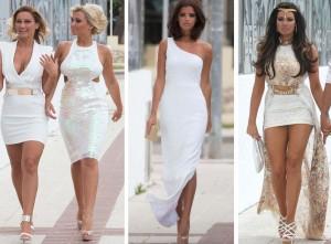 TOWIE girls in Marbella