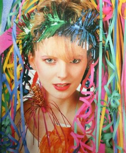 Clare Grogan from Altered Images