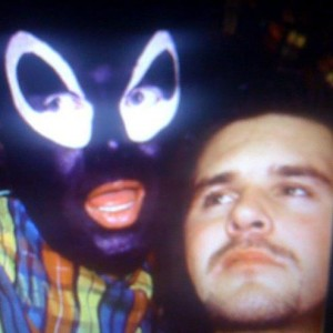 Wayne Shires with Leigh Bowery