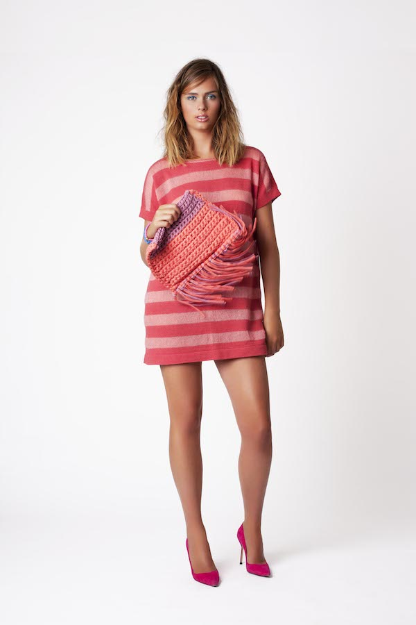 Amy Hall AW14SS15-Space t-shirt dress