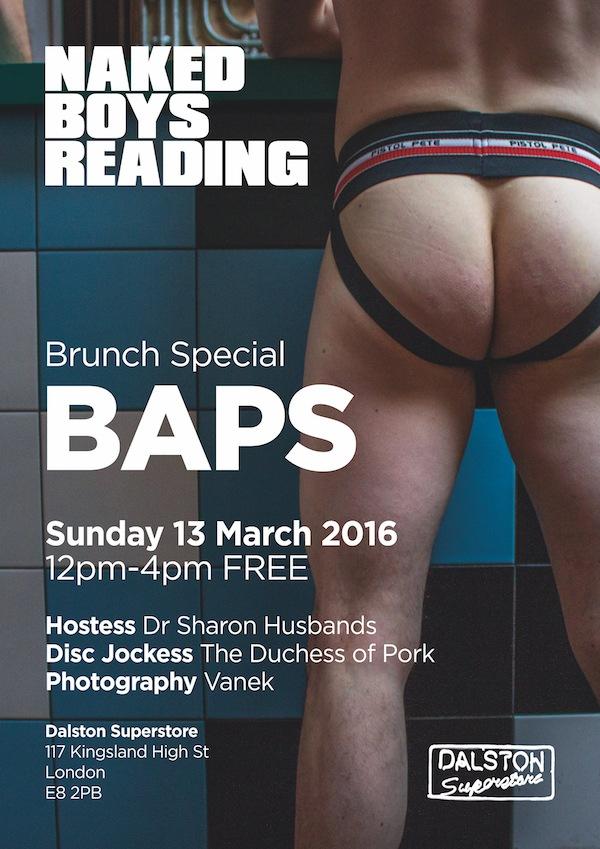 Naked Boys Reading Brunch