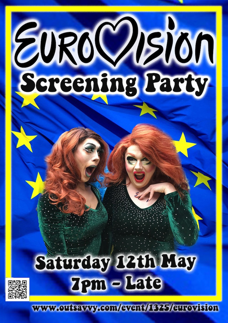 Eurovision screening party with ShayShay and Just May