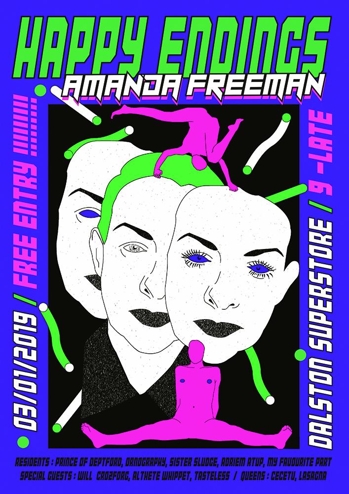 Happy Endings- AMANDA FREEMAN