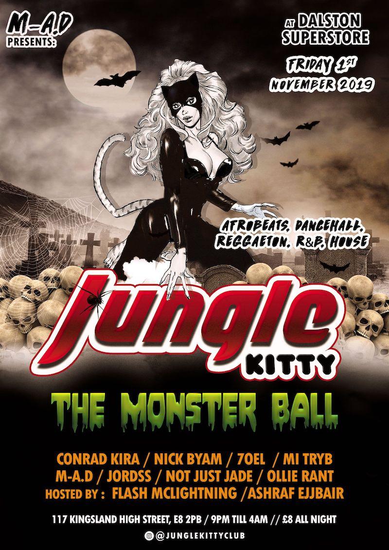 Jungle Kitty: Monster Ball