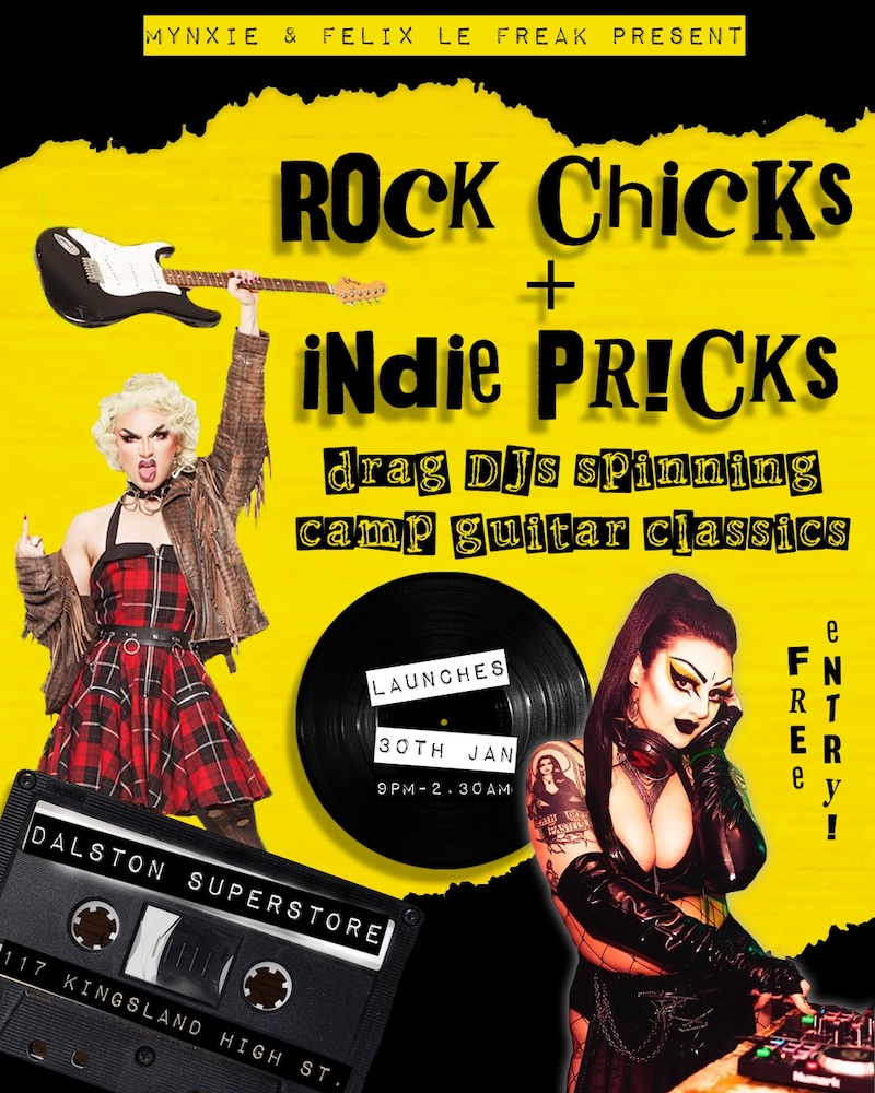 Rock Chicks & Indie Pr!cks