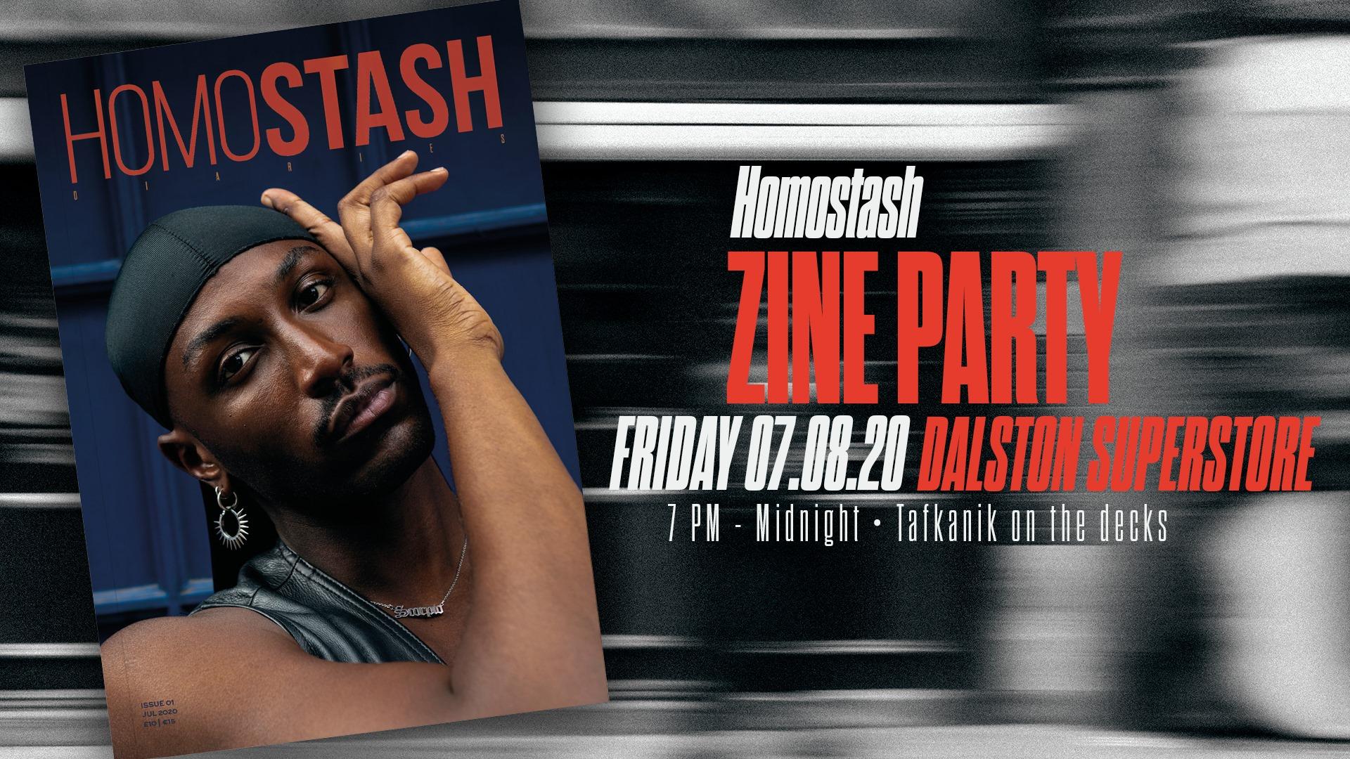 Homostash Zine Party