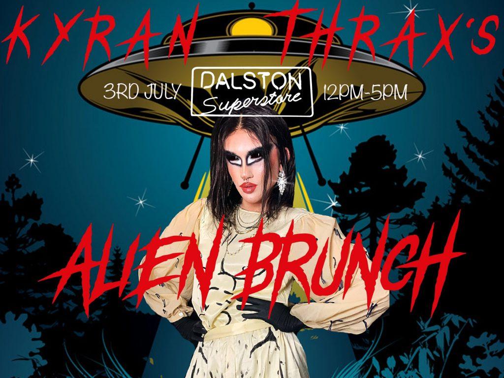 kyran thrax at dalston superstore