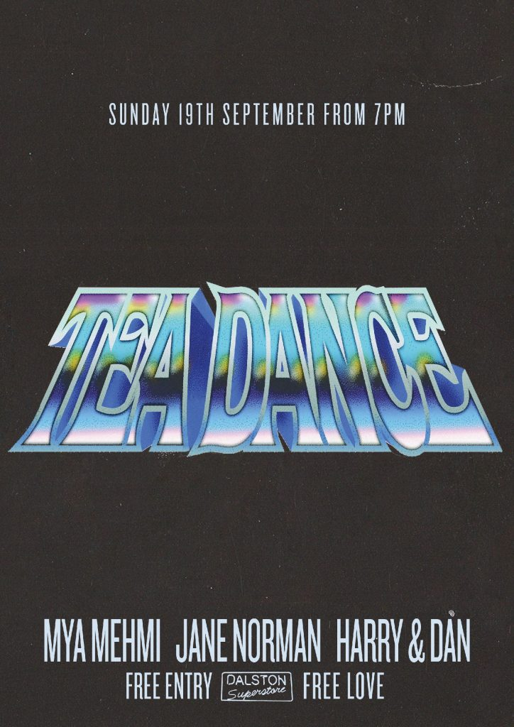 tea dance at dalston superstore